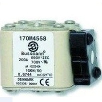 Fuses, Coopper Bussmann, 170M4558 FUSE 690V, 200 A