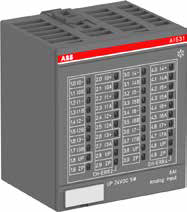 plc ABB PLC AC500-XC I/O Module ANALOG I/O AO523-XC —1SAP450200R0001